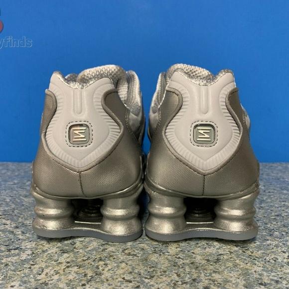 Nike Womens Shox TL Running Shoes Thunder Grey Black